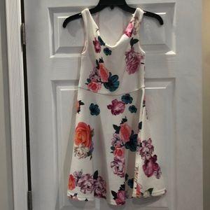 MINKPINK White Floral Dress XS